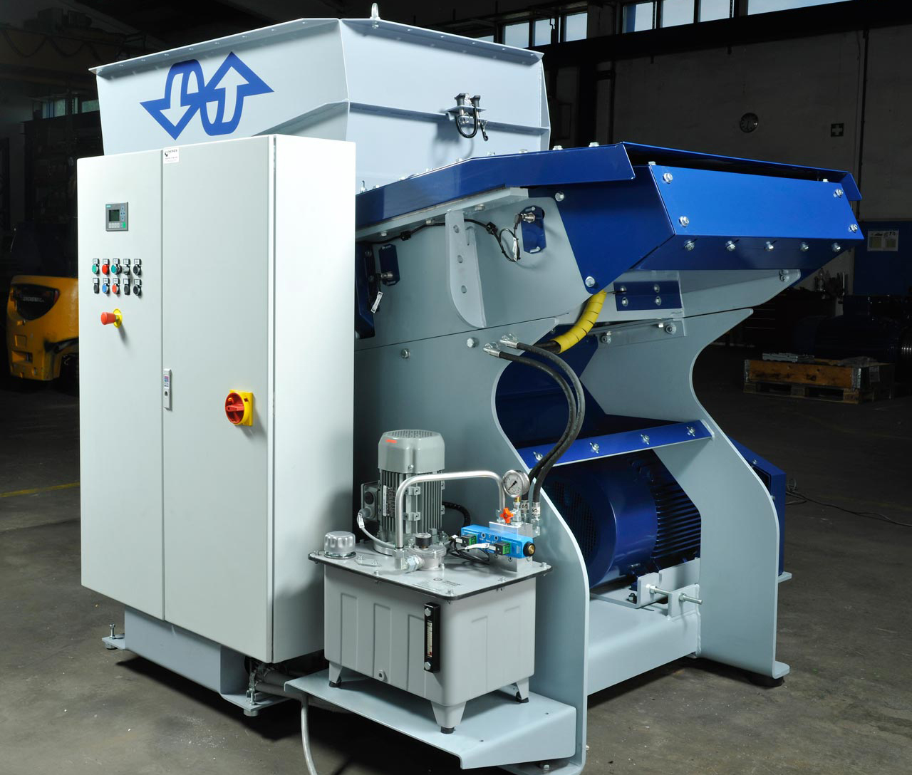 Lindner Shredders & Wash Lines