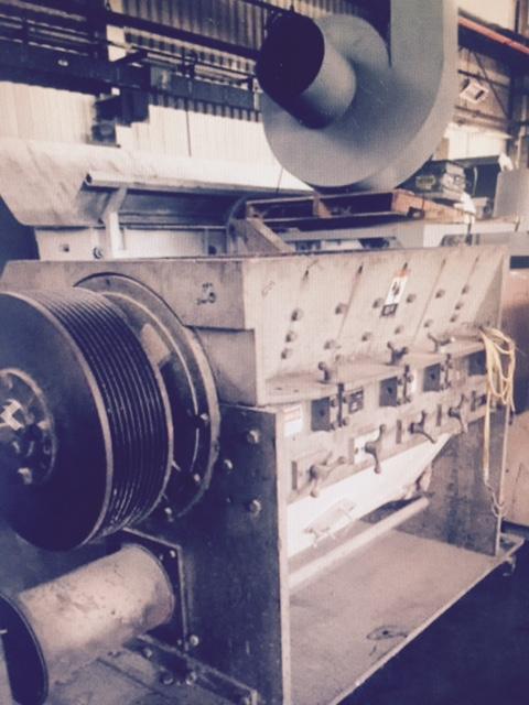 Cumberland X1400 Granulators (2) 150 HP 5 Kn. High Shear