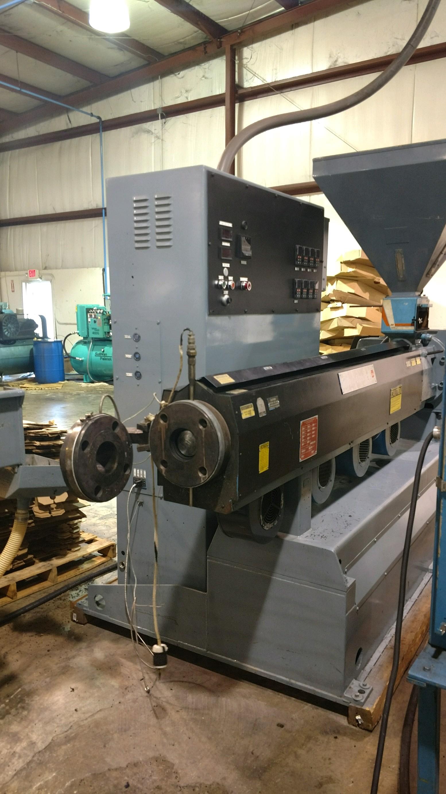 3 5 Davis Standard Extruder Mdl Ds35 Plastic Machinery